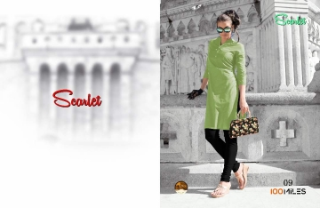 100 MILES SCARLET VOL 2 KURTI WHOLESALE DEALER ONLINE 09