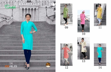 100 MILES SCARLET VOL 2 KURTI WHOLESALE DEALER ONLINE 14-T
