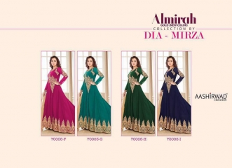 AASHIRWAD ALMIRAH GOLD NEW DIA MIRZA COLLECTION WHOLESALE T