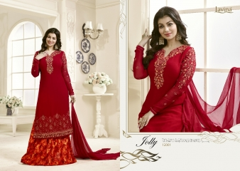 AAYESHA BY LAVINA VOL 12 GEORGETTE EMBROIDERED SALWAR KAMEEZ WHOLESALER SURAT 12001 B