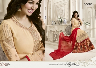 AAYESHA BY LAVINA VOL 12 GEORGETTE EMBROIDERED SALWAR KAMEEZ WHOLESALER SURAT 12005 B