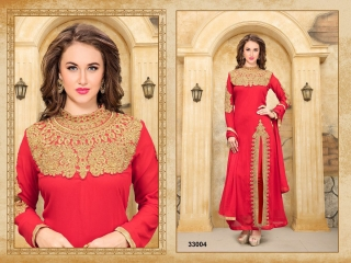 ANNAYA BY TWISHA 33000 SERIES GEORGETTE SALWAR KAMEEZ WHOLESALE EXPORTER SURAT 2