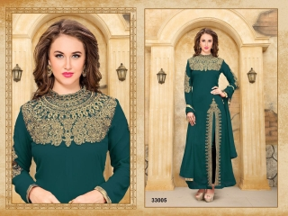 ANNAYA BY TWISHA 33000 SERIES GEORGETTE SALWAR KAMEEZ WHOLESALE EXPORTER SURAT 5