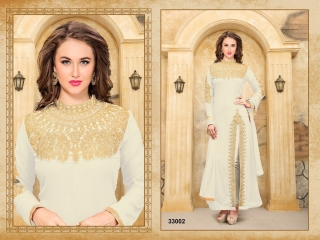 ANNAYA BY TWISHA 33000 SERIES GEORGETTE SALWAR KAMEEZ WHOLESALE EXPORTER SURAT 6