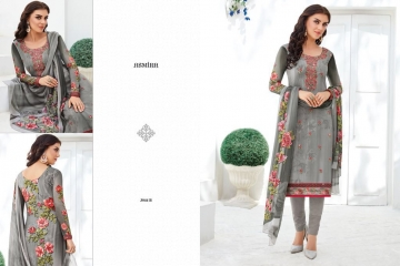 ASMIRA MYRA BY JINAAM DRESS PVT GEORGETTE PRINTS CASUAL WEAR SALWAR KAMEEZ WHOLESALE SURAT 3044 B