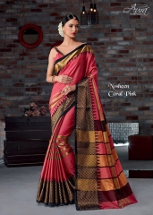 AURA SAREES BY NAUSHEEN VOL 9 CATALOGUE 08