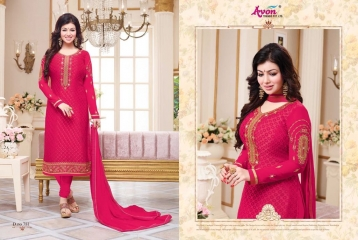 AVON TRENDZ STAR BRASSO VOL 5 TRENDY SALWAR KAMEEZ COLLECTION WHOLESALE SURAT 781