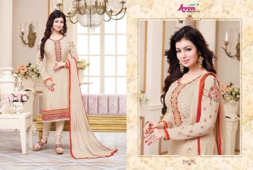 AVON TRENDZ STAR BRASSO VOL 5 TRENDY SALWAR KAMEEZ COLLECTION WHOLESALE SURAT 782