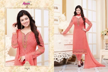 AVON TRENDZ STAR BRASSO VOL 5 TRENDY SALWAR KAMEEZ COLLECTION WHOLESALE SURAT 786