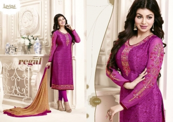 AYESHA BY LAVINA VOL 11 CRAPE EMBROIDERED 11003