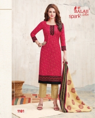BALAJI COTTON BY SPARK VOL 6 CATALOGUE 1181