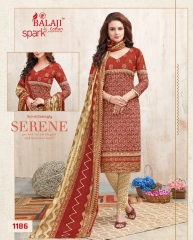 BALAJI COTTON BY SPARK VOL 6 CATALOGUE 1186