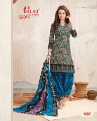 BALAJI COTTON BY SPARK VOL 6 CATALOGUE 1187