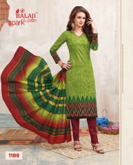 BALAJI COTTON BY SPARK VOL 6 CATALOGUE 1189