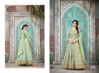 BELA FASHION VINTAGE COLLECTION PARTY WEAR DESIGNER EMBROIDERY SALWAR KAMEEZ COLLECTION WHOLESALE 1587