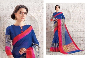 BHAKTI BY TRIVENI SILK SAREES WHOLESALE COLLECTION SURAT 7