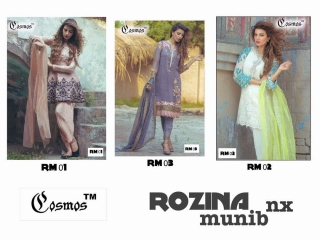 COSMOS FASHION ROZINA MUNIB NX WHOLESALE SUPPLIER SURAT T