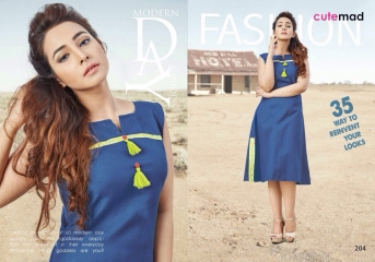 CUTEMAD CLOUD 9 VOL 2 BLENDED COTTON KURTI COLLECTION WHOLESALE 204