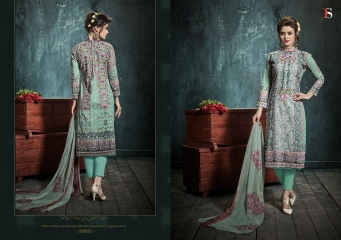 DEEPSY DEEDAR VOL 4 PURE COTTON SALWAR KAMEEZ WHOLESALE 59005
