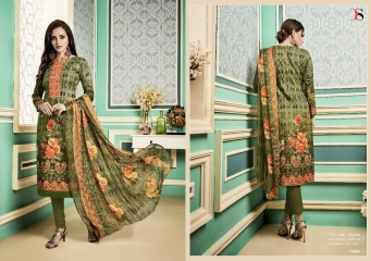 DEEPSY MEHFIL PASHMINA PRINT SELF EMBROIDERED CATALOGUE SALWAR SUITS WHOLESALE PRICE 81001