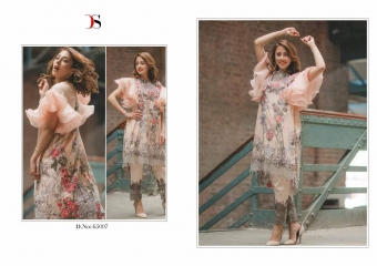 DEEPSY SUITS CARNATION COTTON EMBROIDERED COLLECTION WHOLESALE 65007