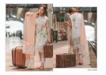 DEEPSY SUITS CARNATION COTTON EMBROIDERED COLLECTION WHOLESALE 65008