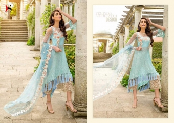 DEEPSY SUITS MEMBROIDERED VOL 2 WHOLESALE SURAT 66007