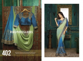 FAIRY FASHIONS ADDAIEN SILK SAREES COLLECTION WHOLEASALE SURAT 402