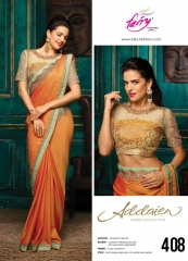 FAIRY FASHIONS ADDAIEN SILK SAREES COLLECTION WHOLEASALE SURAT 408