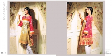 FASHION TRACK BY SANA SAMIA PAKISTANI STYLE KURTI COLLECTION WHOLESALE PRICE SURAT 10