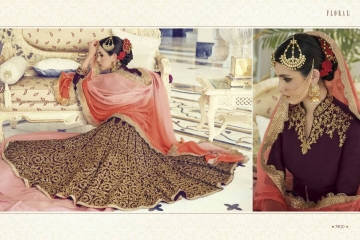 FLORAL CREATIONS MUGHAL EID COLLECTION WHOLESALE 7400 B
