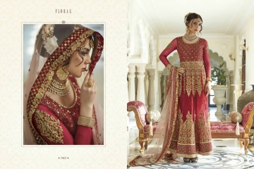 FLORAL CREATIONS MUGHAL EID COLLECTION WHOLESALE 7401 B