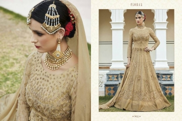 FLORAL CREATIONS MUGHAL EID COLLECTION WHOLESALE 7402 A