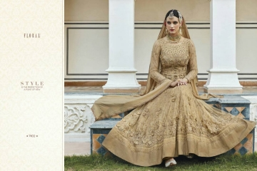 FLORAL CREATIONS MUGHAL EID COLLECTION WHOLESALE 7402 B