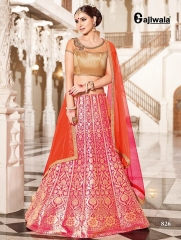 GAJIWALA LEHENGHA COLLECTION WHOLESALE CATALOGUE SURAT ONLINE 826