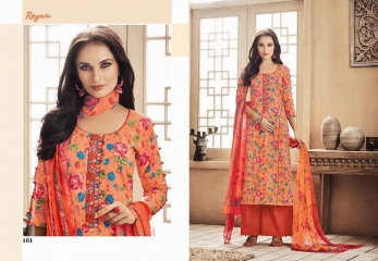 GANGA FASHION REYNA COTTON WHOLESALE SUITS SURAT 161