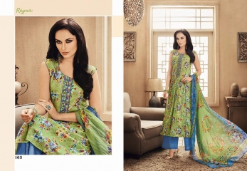 GANGA FASHION REYNA COTTON WHOLESALE SUITS SURAT 163