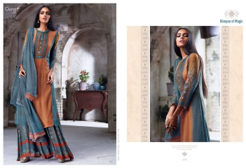 GANGA GLIMPSE OF MAGIC PURE GEORGETTE SUITS WHOLESALE 4739