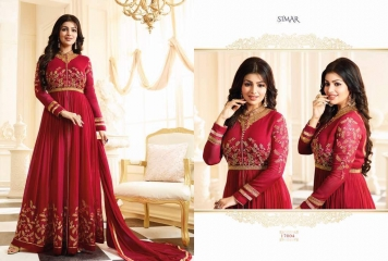 GLOSSY SIMAR RAMAZAN EID SPECIAL SUITS COLLECTION WHOLESALE SURAT 17004 A