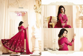GLOSSY SIMAR RAMAZAN EID SPECIAL SUITS COLLECTION WHOLESALE SURAT 17008 B