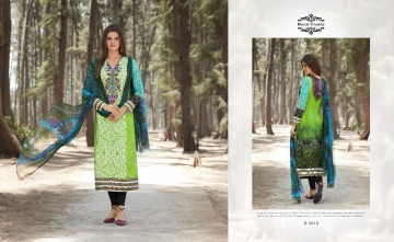 HAYAT TRENDZ MAYRA LAWN COTTON SUITS WHOLESALER SURAT 3010