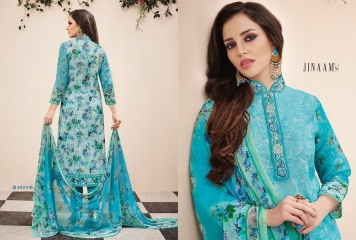JINAAM DRESS PVT LTD BOTANICAL BLOOM COTTON SALWAR KAMEEZ WHOLESALE 8809 B