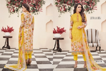 JINAAM DRESS PVT LTD BOTANICAL BLOOM COTTON SALWAR KAMEEZ WHOLESALE 8813