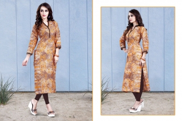 JYRA BY GLORIOUS CAMBRIC COTTON CASUAL WEAR KURTI COLLECTION WHOLESALE SURAT 8