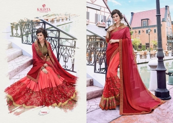 KALISTA FASHION BY SHEZADI COLLECTION CATALOGUE 16023