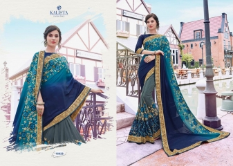 KALISTA FASHION BY SHEZADI COLLECTION CATALOGUE 16028