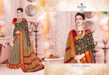 KALISTA FASHION NEELKAMAL SAREES COLLECTION WHOLESALE SURAT 1704