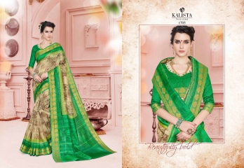 KALISTA FASHION NEELKAMAL SAREES COLLECTION WHOLESALE SURAT 1705