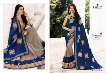 KALISTA FASHION QUEEN VOL 3 GEORGETTE SAREES SURAT ONLINE 18201