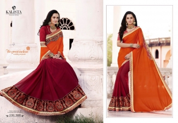 KALISTA FASHION QUEEN VOL 3 GEORGETTE SAREES SURAT ONLINE 18208